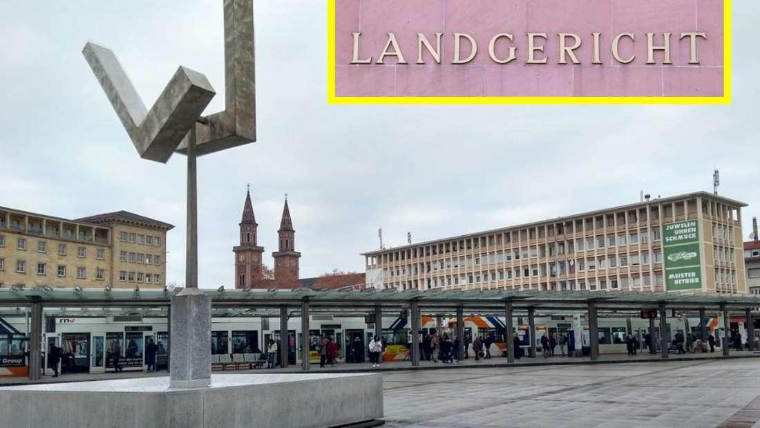 Vor Gericht: Versuchter Totschlag am Berliner Platz in Ludwigshafen