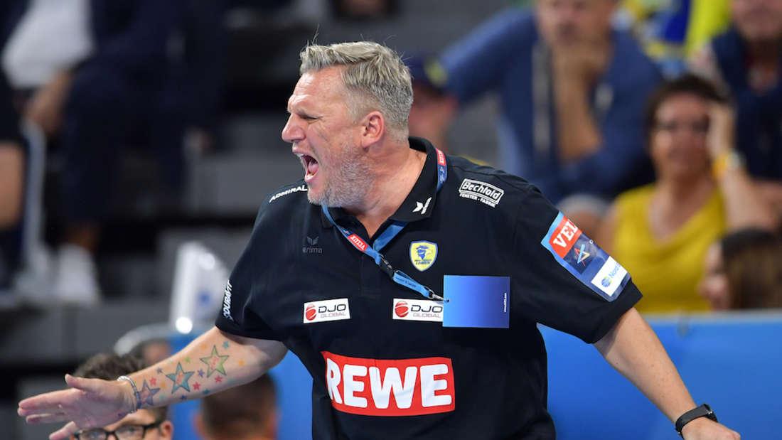 Löwen-Coach Nikolaj Jacobsen geht nach der Niederlage gegen Vardar hart mit seiner Mannschaft ins Gericht. (Archivfoto)