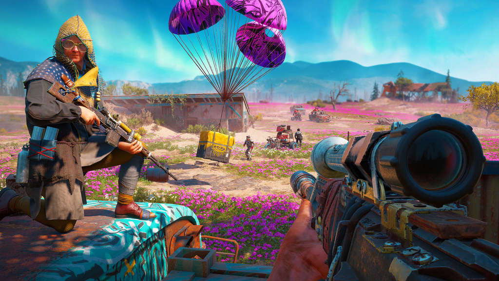 Hope County sieht in Far Cry New Dawn viel bunter aus als noch in Far Cry 5.