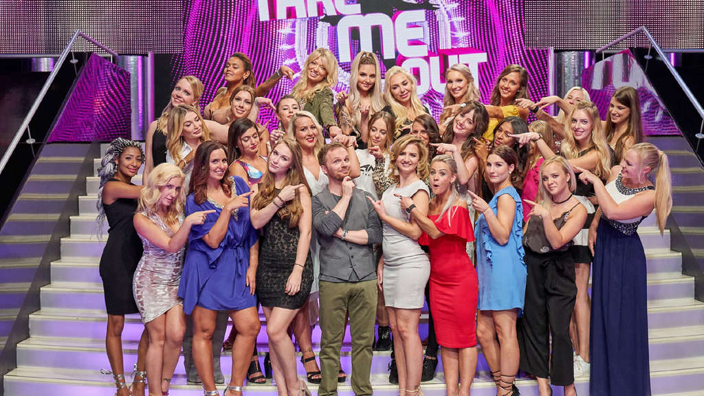 "Single-Ladies bei der RTL-Kuppelshow ""Take me Out"" und Ralf Schmitz."
