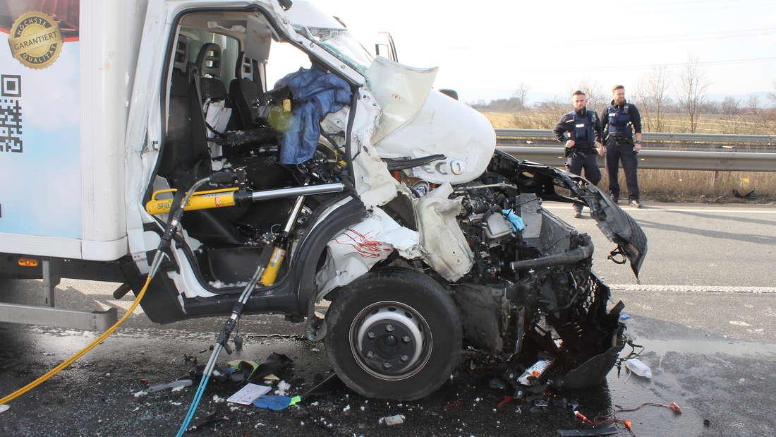 Unfall A61 Mutterstadt