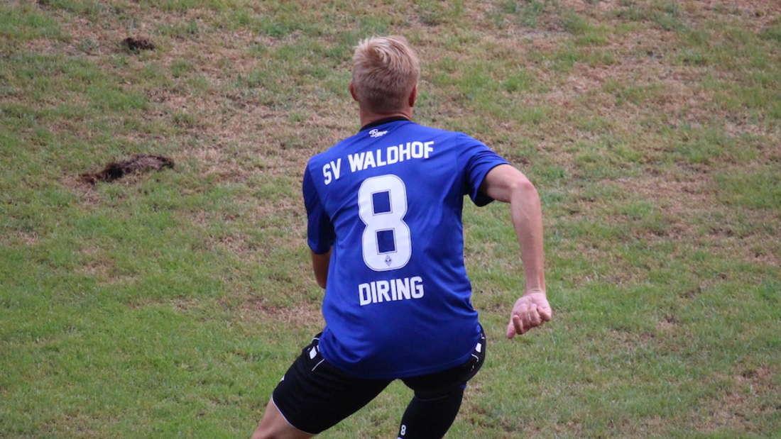 Dorian Diring fällt gegen den FSV Frankfurt aus.