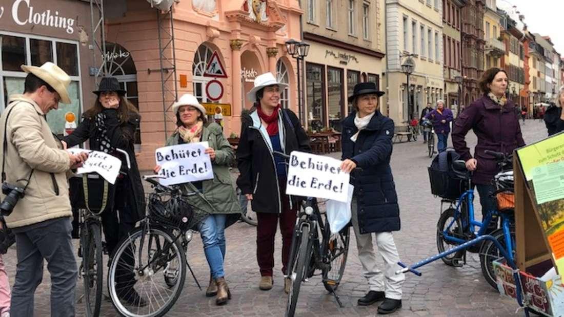 Fridays for Future Demonstration für Klimaschutz und Ochsenkopf
