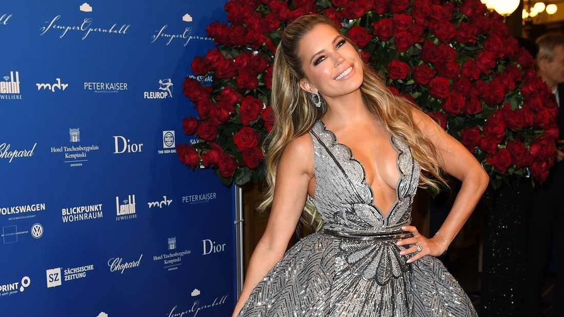 Sylvie Meis erntet Shitstorm für ihr Kleid und ihr Auftreten beim Dresdner Opernball - zu heiß und divenhaft für den Semperopernball?