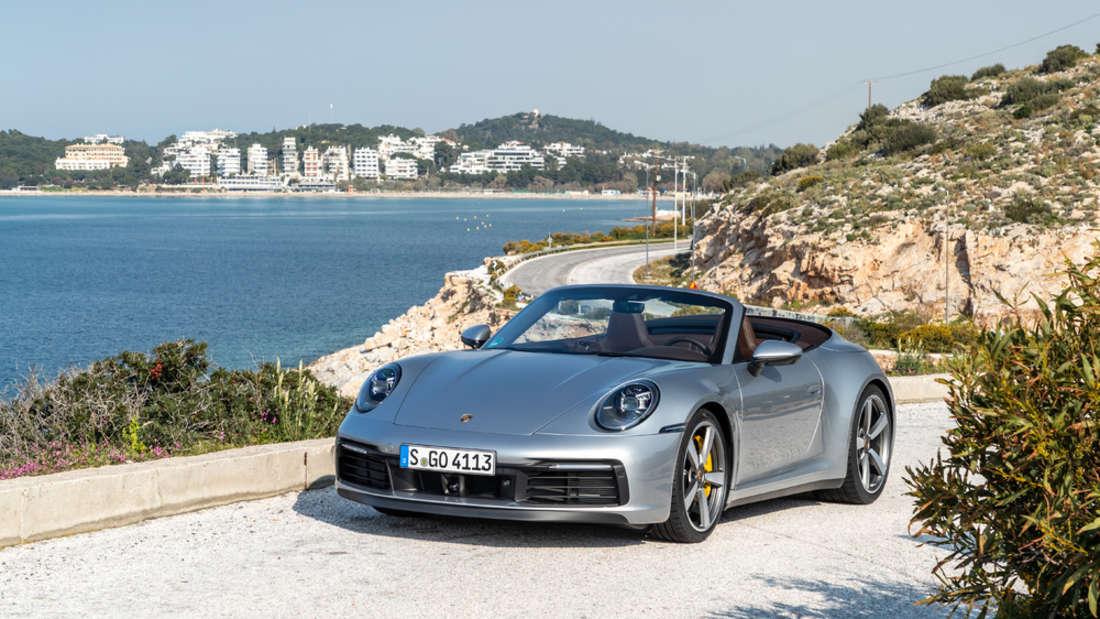 Runter mit dem Dach der Frühling kommt: das neue Porsche 911 Cabriolet.