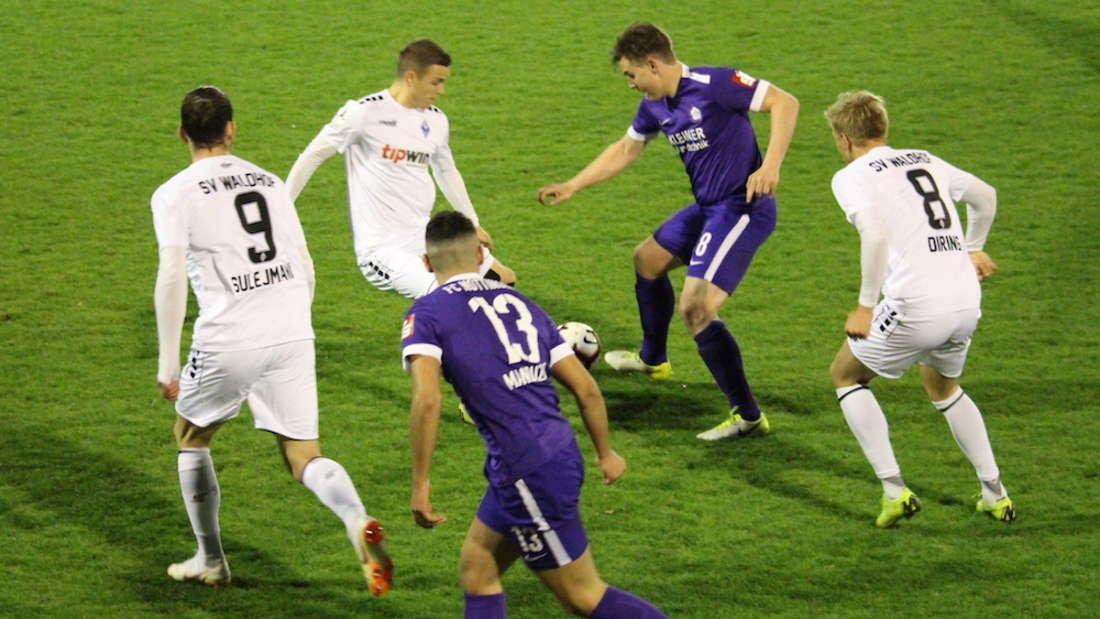 Pokal-Halbfinale: FC Nöttingen – SV Waldhof Mannheim