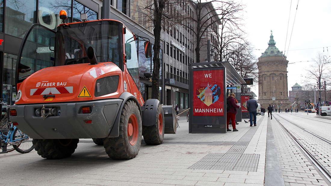 Planken-Neugestaltung Mannheim