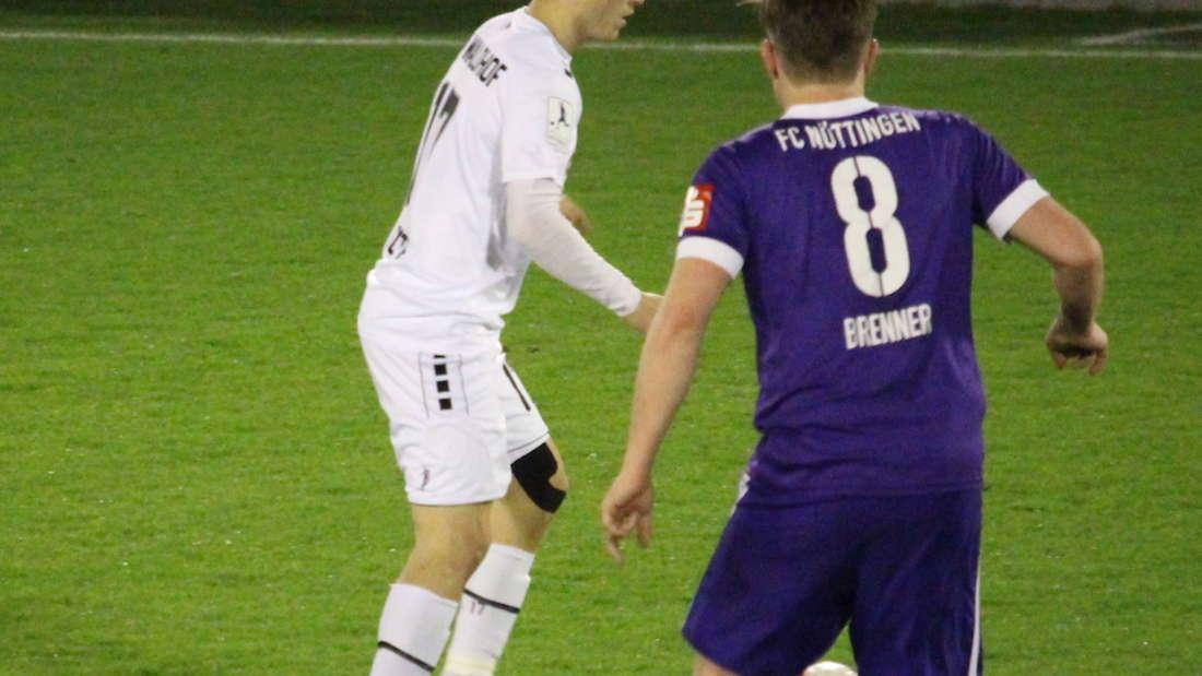 Badischer Pokal - Halbfinale: FC Nöttingen gegen SV Waldhof Mannheim