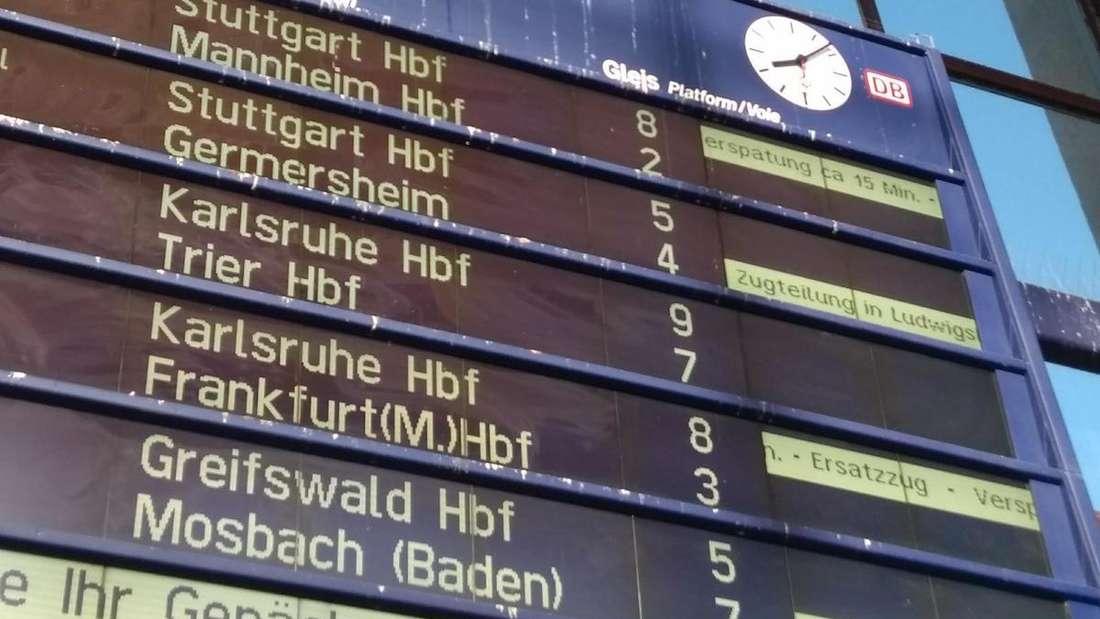 S Bahn Ausfall wegen Personenschaden