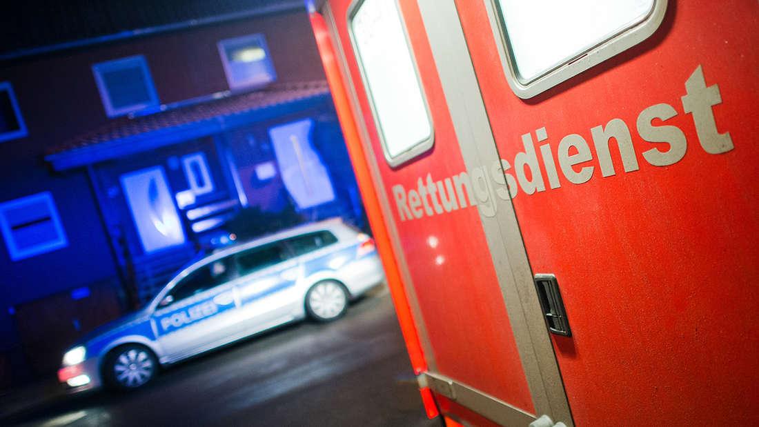 Gaffer schlägt Sanitäter in Mannheim (Symbolfoto)