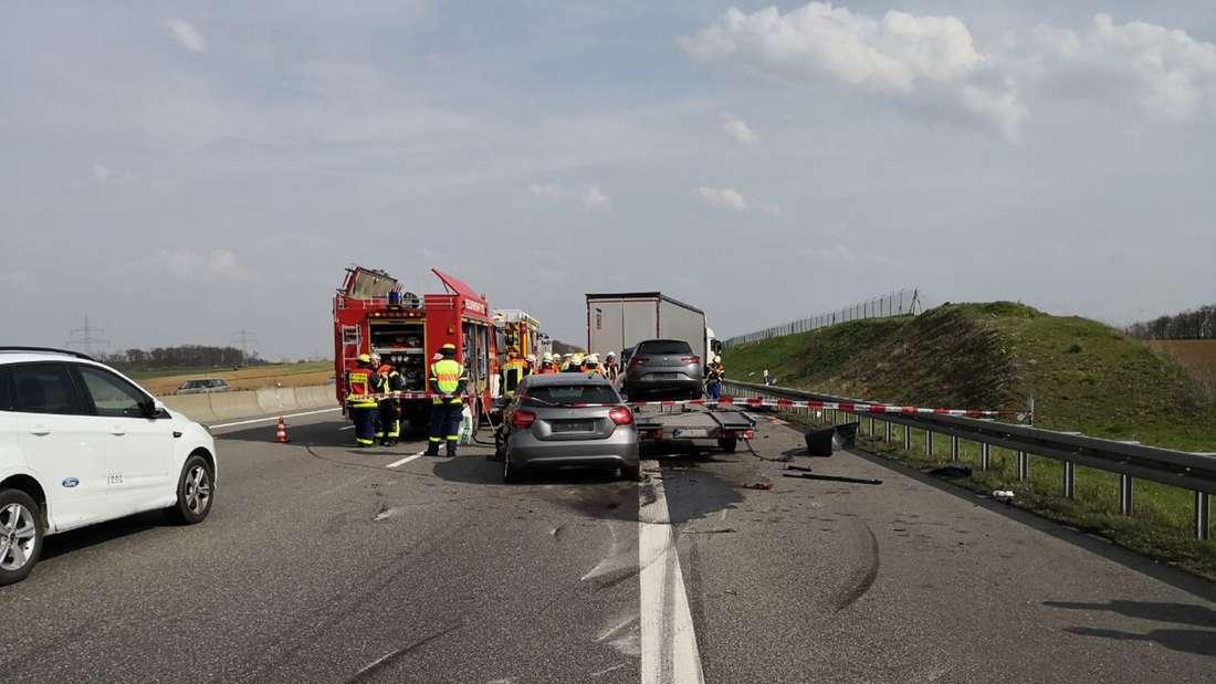 Tödlicher Unfall auf A6 bei Sinsheim Kirchardt