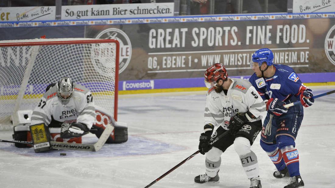 DEL Playoffs, Halbfinale - Spiel 1: Adler Mannheim gegen Kölner Haie in SAP Arena