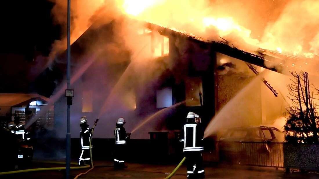 Brand Zwingenberg Feuer