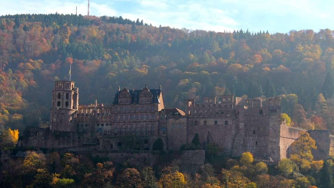 Das Heidelberger Schloss gehört zu den Top-Verlinkten Orten auf Instagram. (Archivfoto)