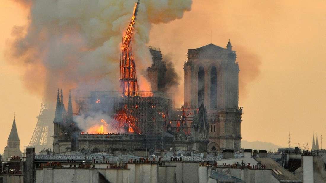 Der verheerende Brand zerstörte Teile der Kathedrale Notre-Dame.