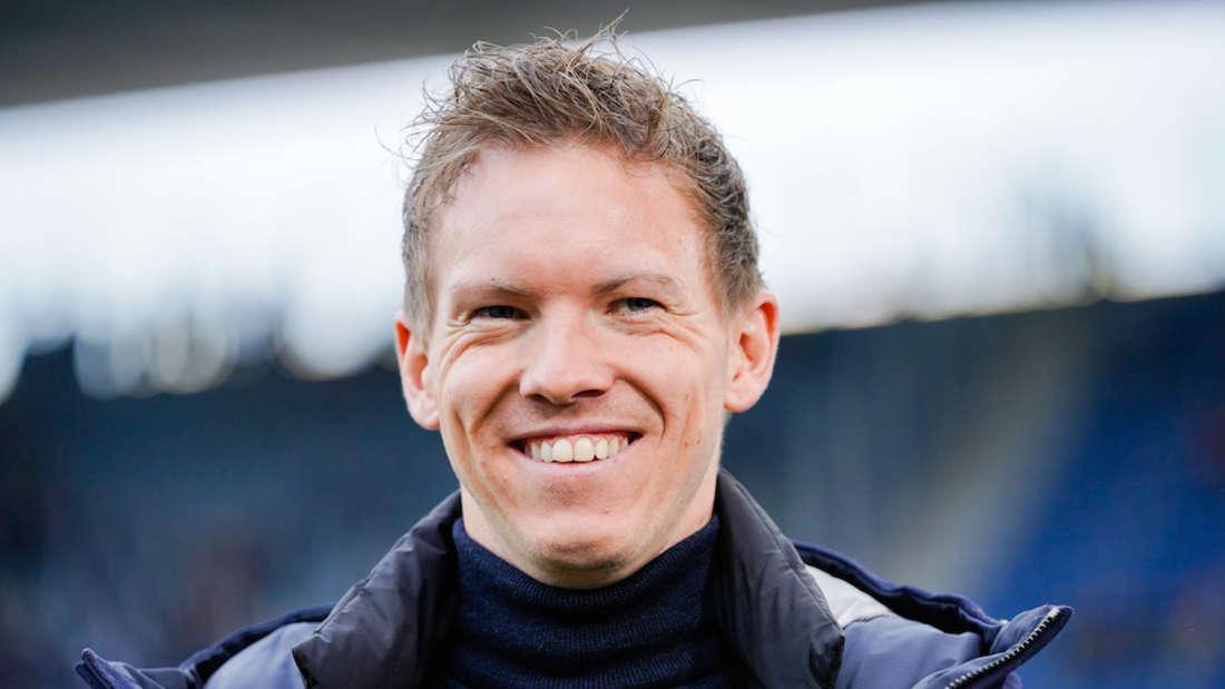 Julian Nagelsmann muss der TSG Hoffenheim am Samstag zum FC Schalke 04.