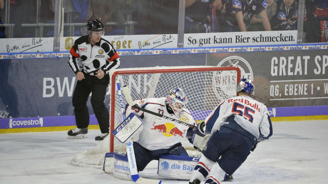 DEL-Playoffs, Finale - Spiel 1: Adler Mannheim - EHC Red Bull München in der SAP Arena