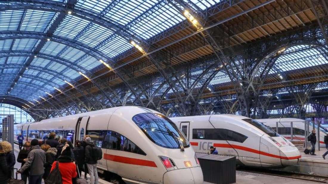Der Andrang auf ICE- und IC-Züge dürfte bei sinkenden Ticketpreisen weiter zunehmen. Foto: Jan Woitas