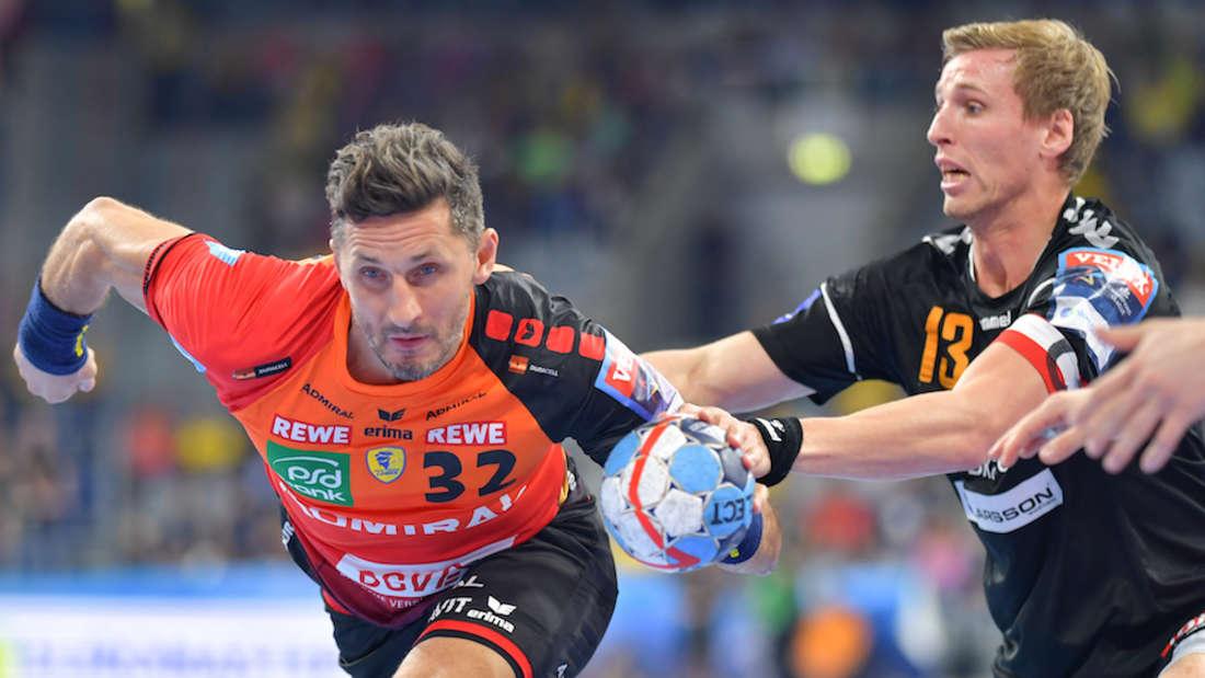 Die Rhein-Neckar Löwen müssen bis zum Saisonende auf Alexander Petersson verzichten.