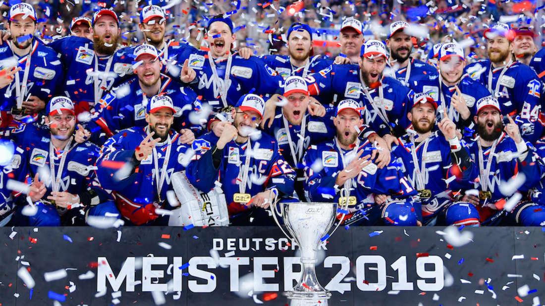 Adler Mannheim sind Deutscher Meister 2019.