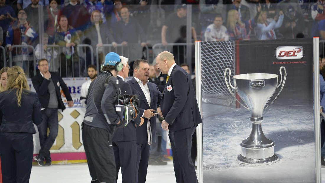 Adler Mannheim sind Deutscher Meister 2019 - Feier in der SAP Arena