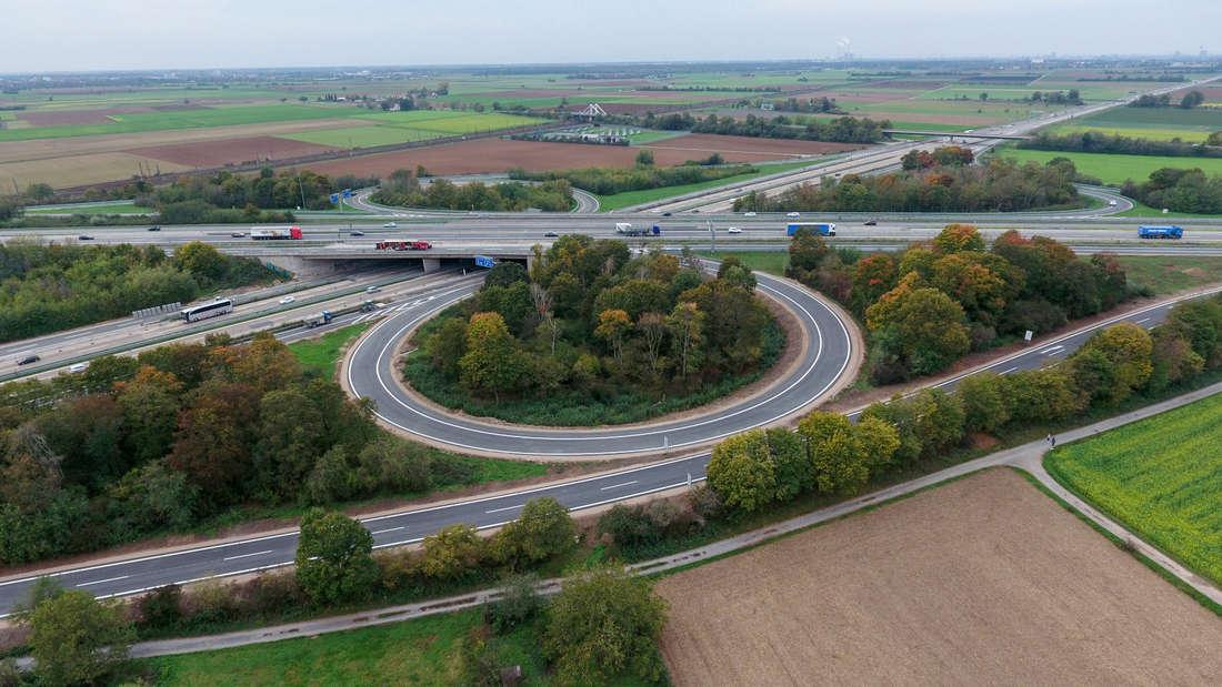Sanierungsarbeiten auf A5/A656 am Heidelberger Kreuz verzögern sich abermals.