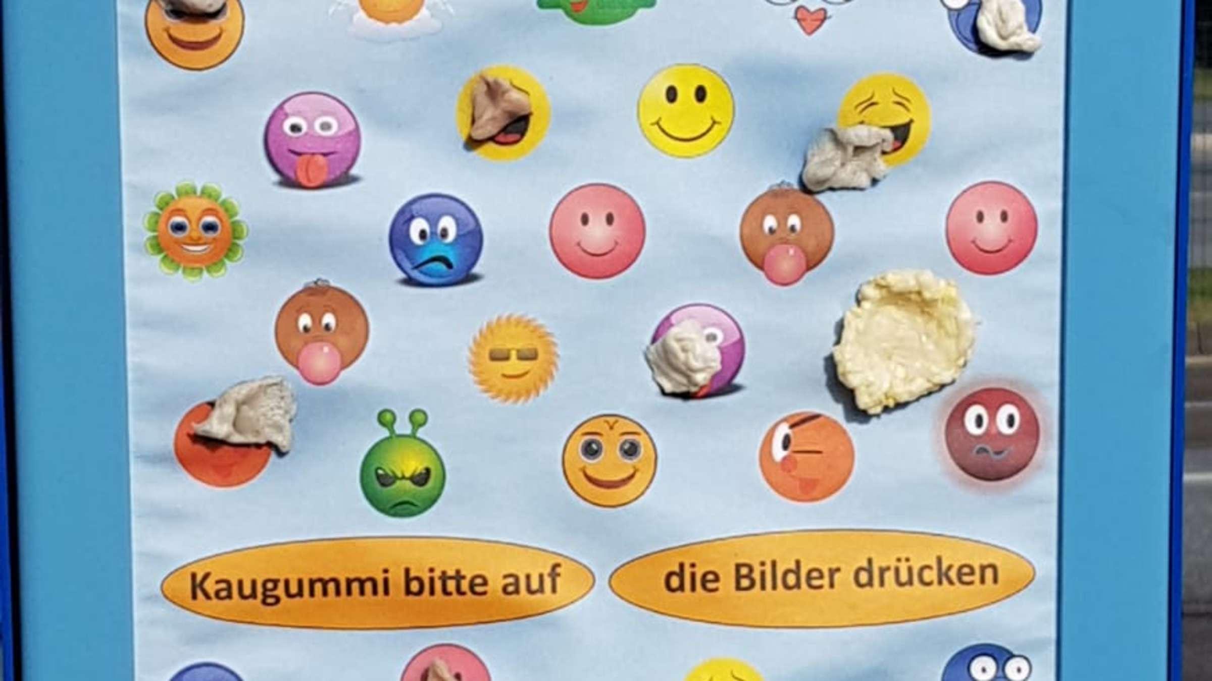 Kaugummi Kampf Gum Walls Kleben Ab Sofort An Diesen