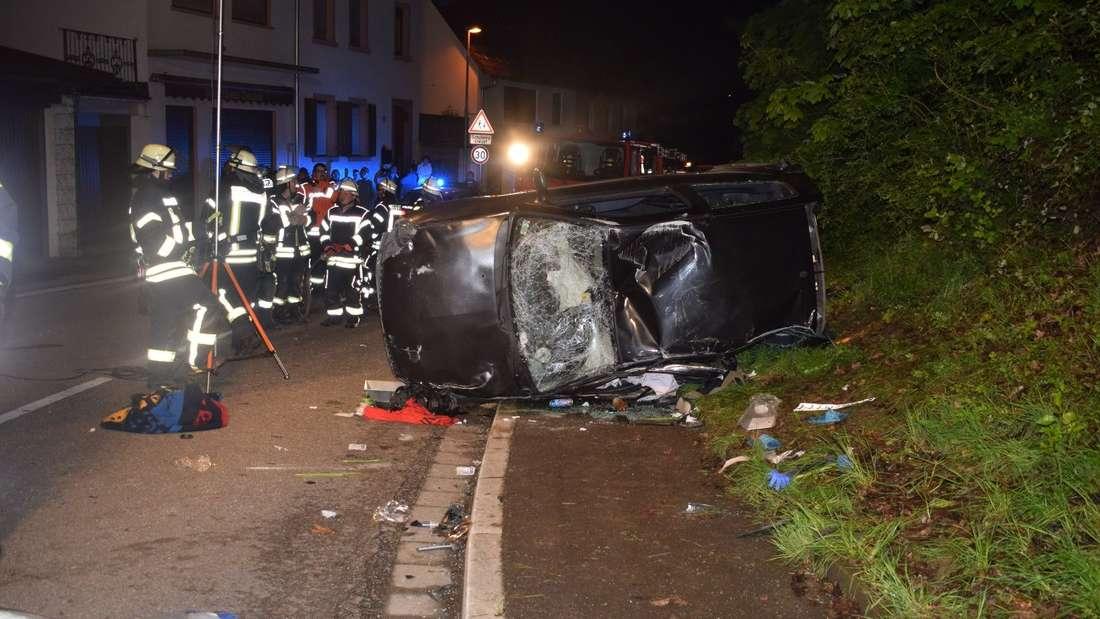 Schwerer Unfall Reichartshausen, Rhein-Neckar-Kreis