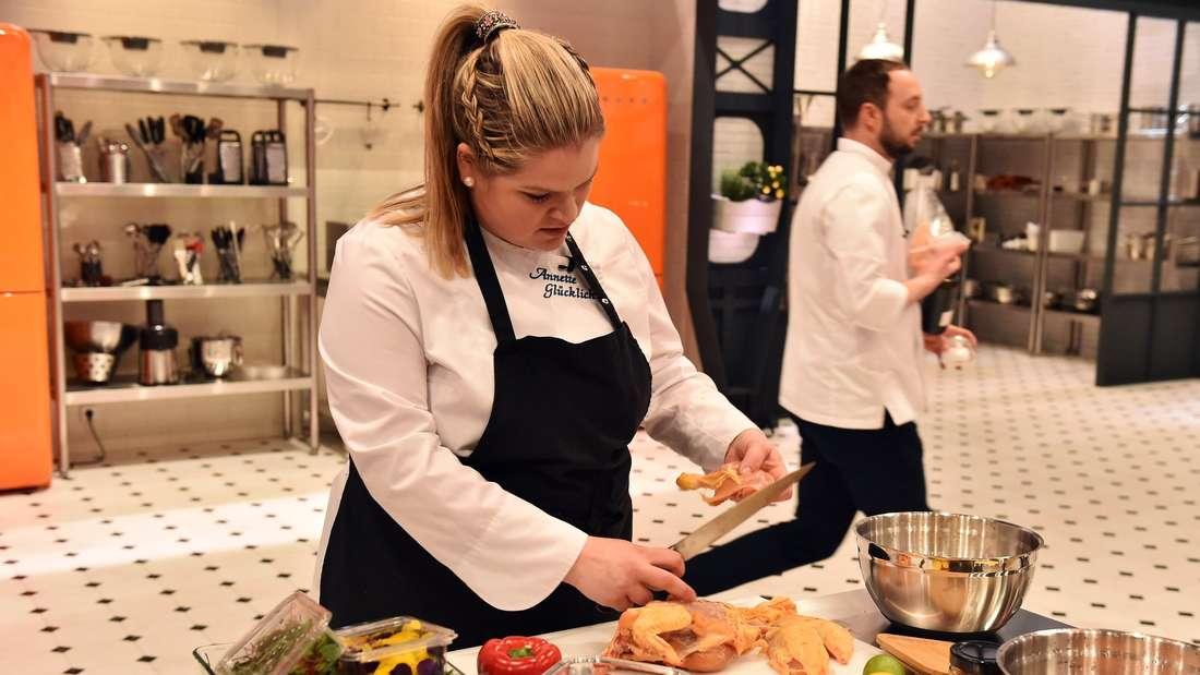 """Annette Glücklich bei """"Top Chef Germany"""" – immer mittwochs um 20:15 Uhr in SAT.1."""