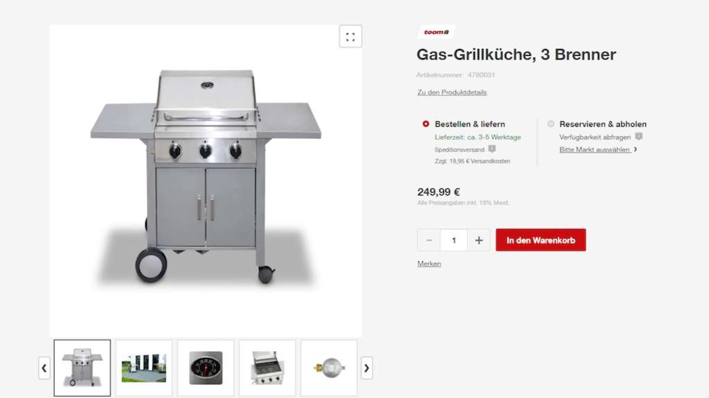 toom baumarkt macht gas griller gl cklich mit dem. Black Bedroom Furniture Sets. Home Design Ideas