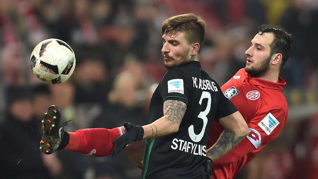 Konstantinos Stafylidis (li.) wechselt zur TSG Hoffenheim.