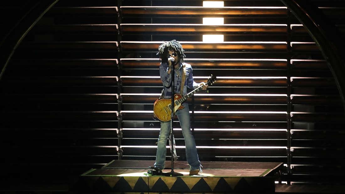 Lenny Kravitz am Mittwoch in der SAP Arena