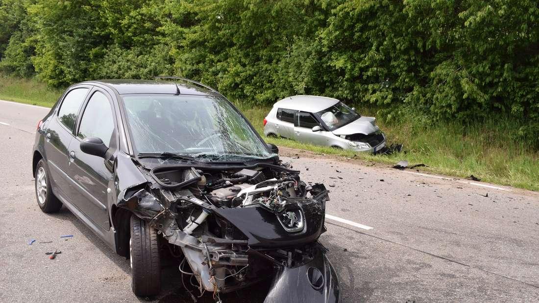 Unfall auf B39: Schwerer Frontalzusammenstoß bei Sinsheim