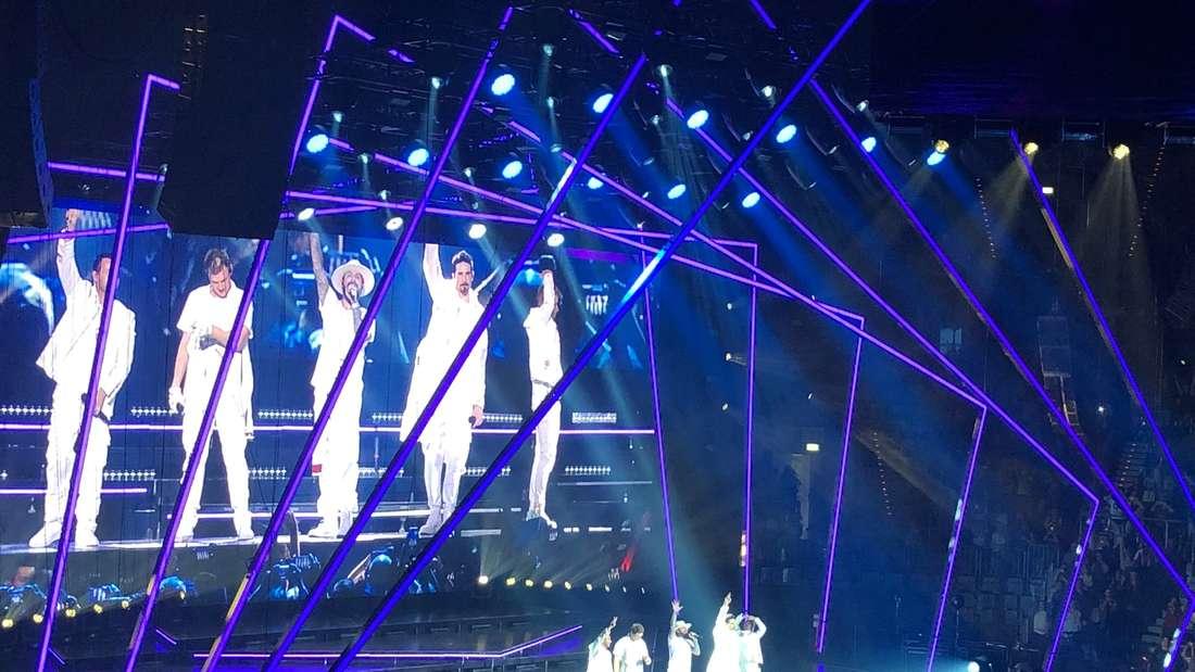 Die Backstreet Boys in Mannheim