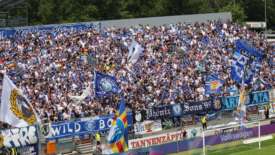 Badisches Pokalfinale: Karlsruher SC gewinnt gegen SV Waldhof Mannheim.