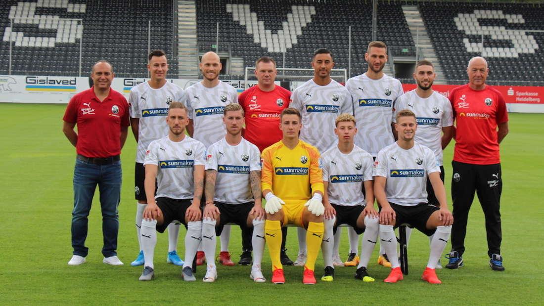 Die Neuzugänge des SV Sandhausen.