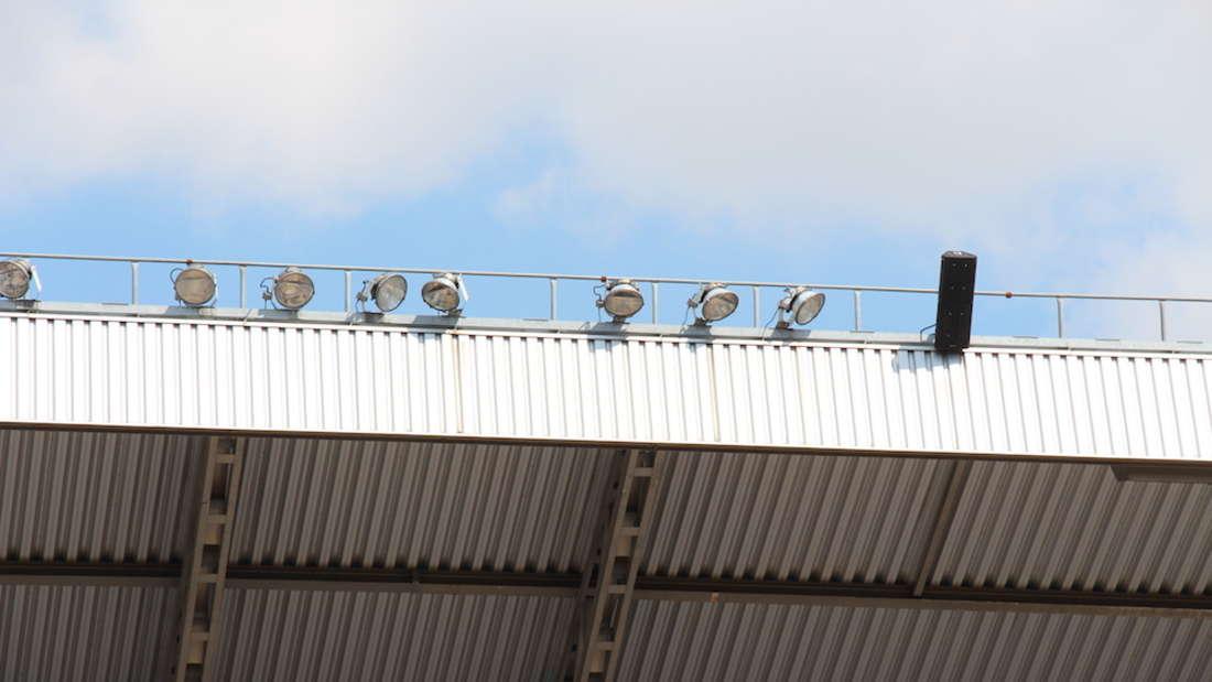 Das Carl-Benz-Stadion wird für die 3. Liga modernisiert.