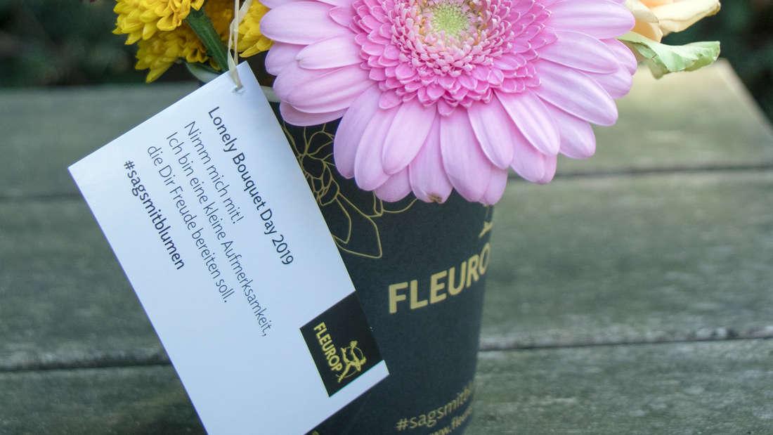 Am 30. Juni findet der 'Lonely Bouquet Day' auch in Mannheim statt.