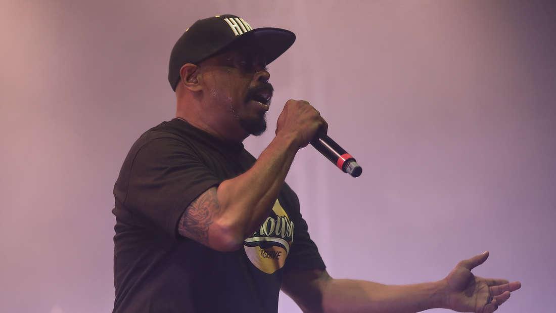 Die Rap-Gruppe Cypress Hill heizt dem Publikum beim Zeltfestival 2019 richtig ein.