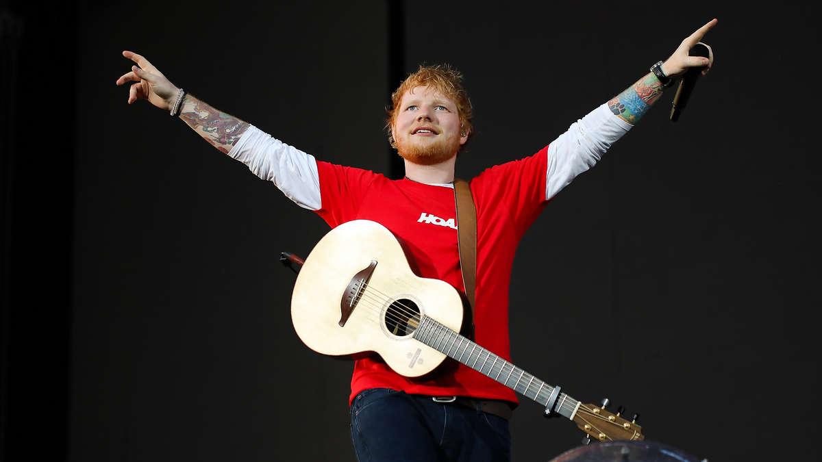 Konzert Hockenheimring Ed Sheeran
