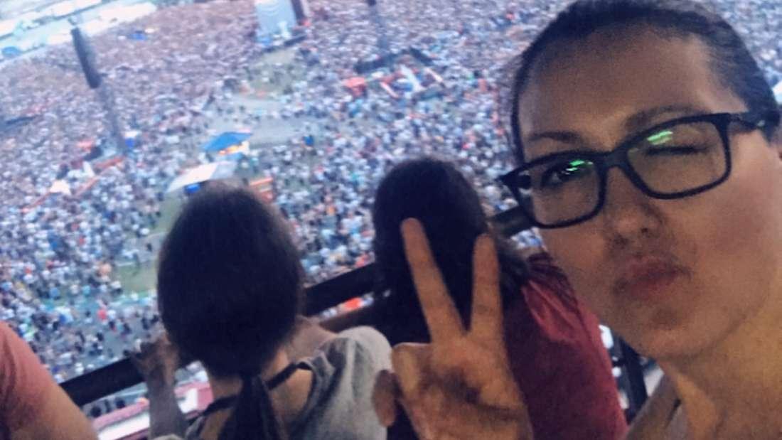 Fan Regina R. fand einfach alles super auf dem Ed Sheeran Konzert.