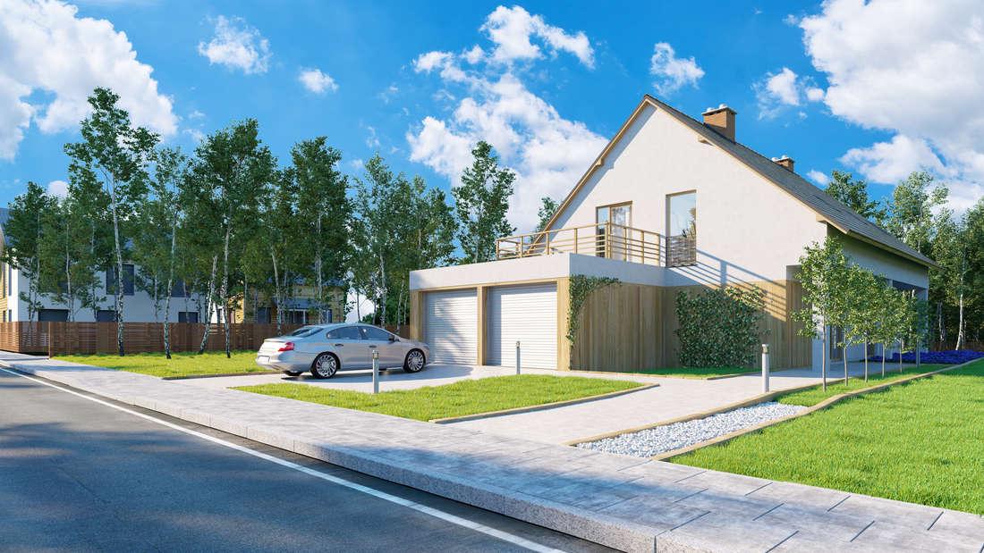 Je einfacher die Geometrie des Hauses, desto günstiger der Bau.