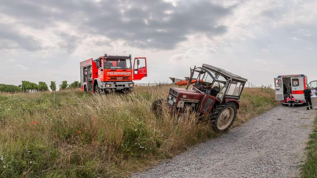Tödlicher Unfall Traktor Oberderdingen