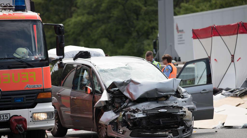 Rüsselsheim Unfall