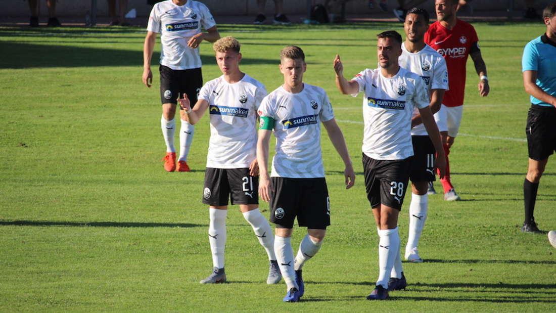Der SV Sandhausen verliert am Donnerstag das Testspiel gegen den 1. FC Kaiserslautern.