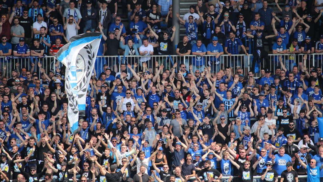Die Waldhof-Fans reisen am ersten Spieltag nach Chemnitz.