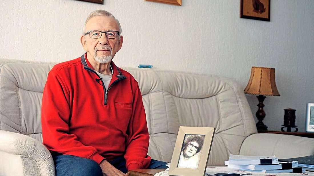 Helmut Feldmann aus Marl kämpft für das Recht auf Sterbehilfe.