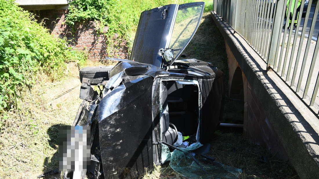Schwerer Unfall auf B45