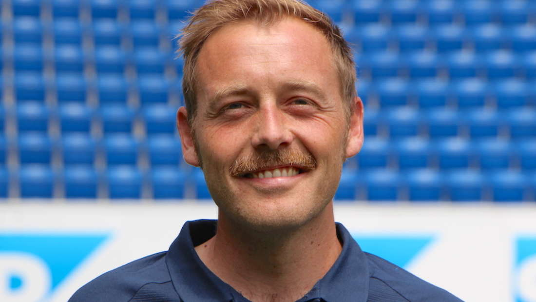 Co-Trainer Matthias Kaltenbach