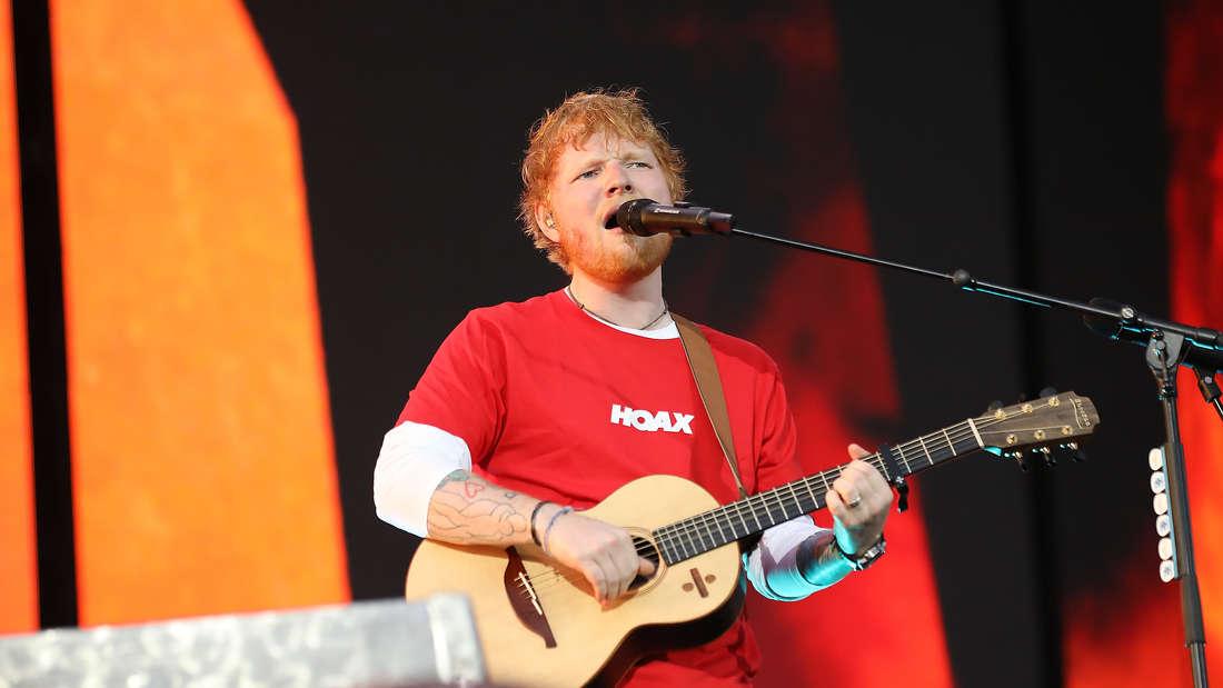 Ed Sheeran sorgte für einen unvergesslichen Abend – so auch die Organisation – zumindest laut einigen Fans.